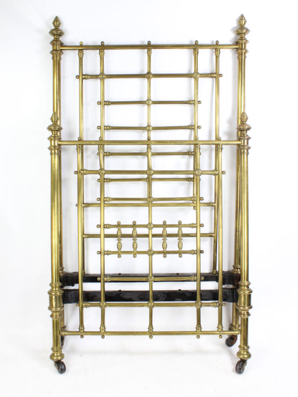 Shoolbred and Co Brass Bed