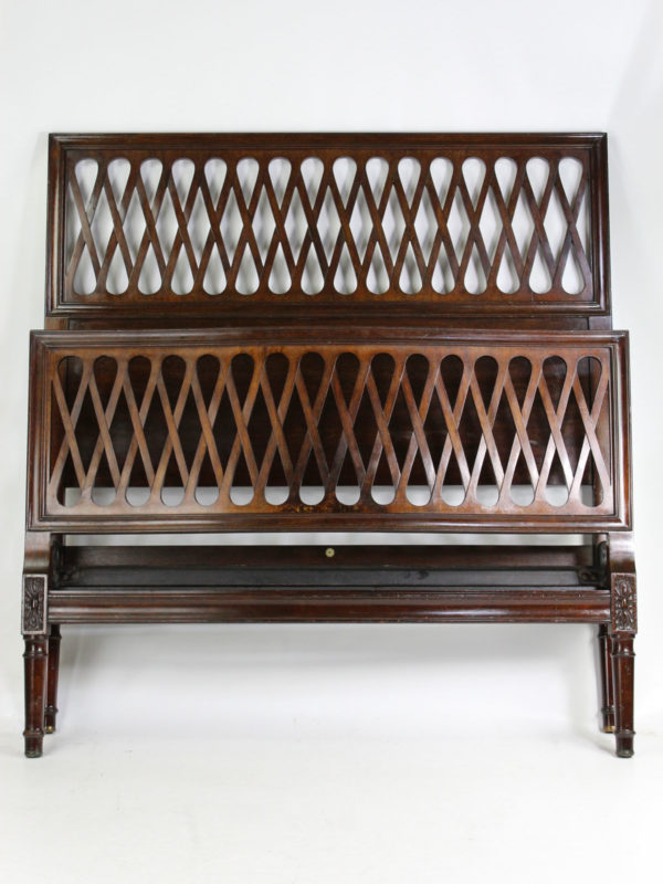 Heals Mahogany Small Double Bed