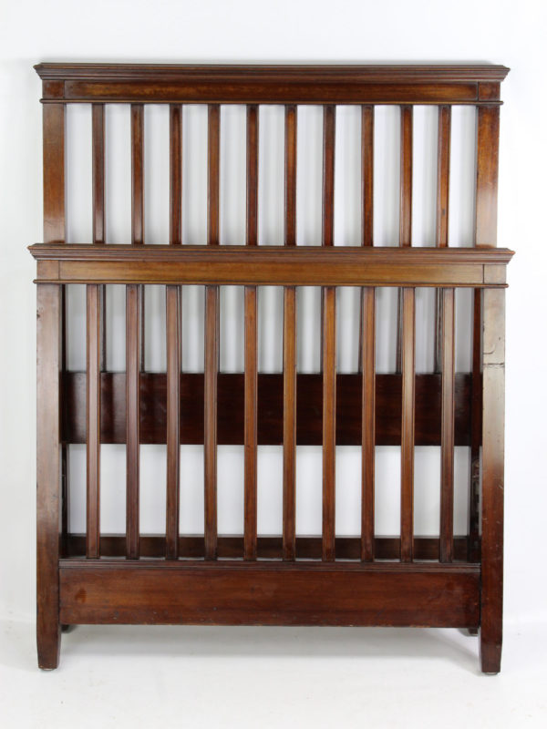 Edwardian Single Mahogany Bed by Warings